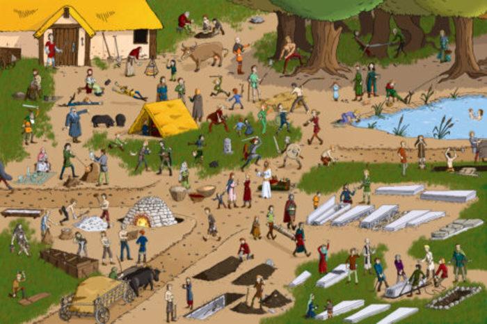 Devenez archéo-anthropologue grâce à 3 enquêtes plus vraies que nature ! Le jeu « Qui est ce squelette ? » vous mettra sur la trace de 16 sépultures originales. « Archéoscan » mêlera méthode...