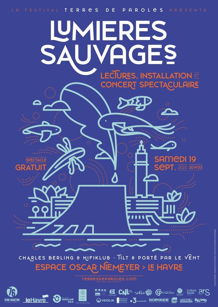 Journées du patrimoine 2020 - Lumières Sauvages - Lectures, installation et concert spectaculaire
