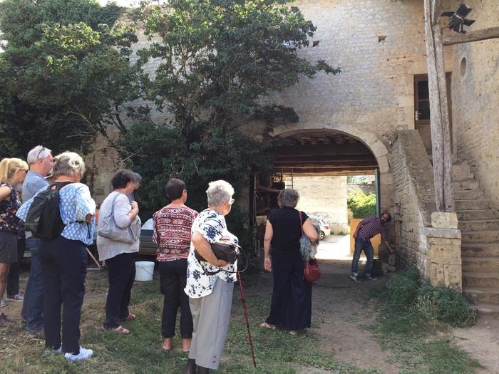Journées du patrimoine 2019 - Du logis seigneurial au projet associatif : Vieilles pierres, laboratoire artistique et  visions collectives.