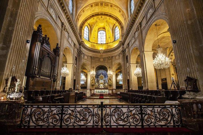 Journées du patrimoine 2020 - Visite libre de l'église Saint Nicolas du Chardonnet