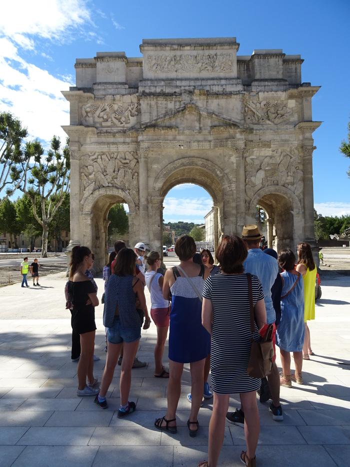 Journées du patrimoine 2019 - Visites guidées de l'Arc de Triomphe (1er siècle A-JC)