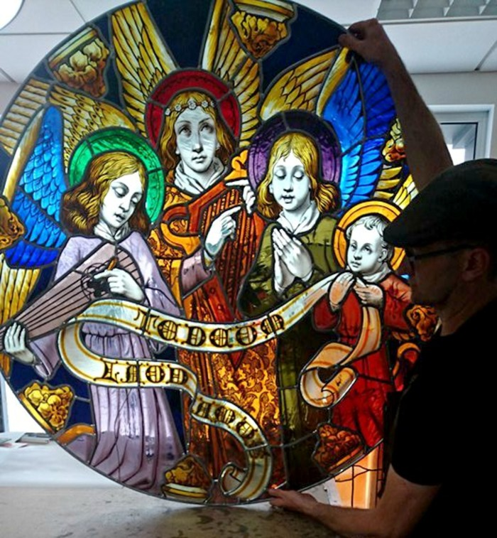 Journées du patrimoine 2019 - Démonstration création et restauration de vitraux