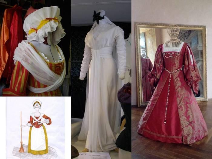 Journées du patrimoine 2019 - Costumes Renaissance à l'Hôtel de Marisy