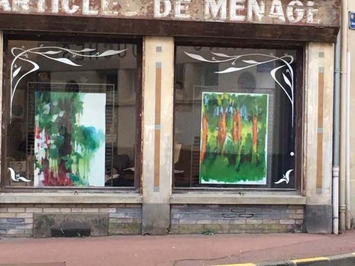 Exposition de peintures de Nathalie Lefèvre à Illiers-Combray