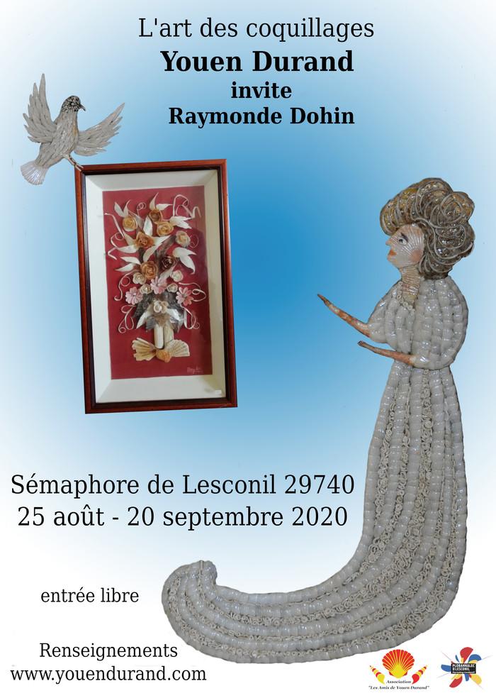Journées du patrimoine 2020 - Exposition Youen Durand invite Raymonde Dohin