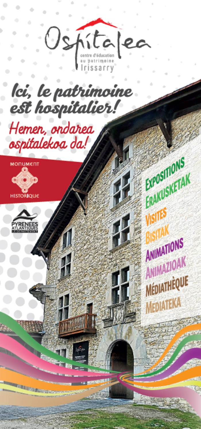 Journées du patrimoine 2019 - Ospitalea