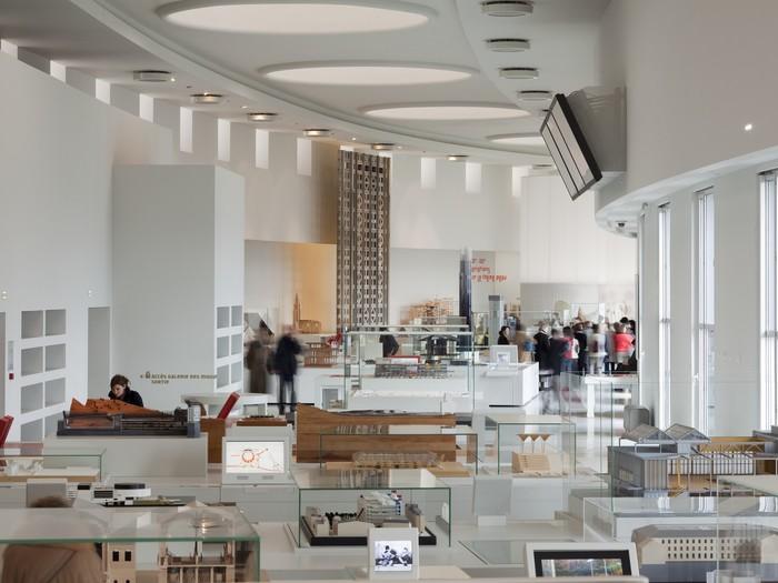 Nuit des musées 2019 -Visite guidée des collections : galerie d'architecture moderne et contemporaine