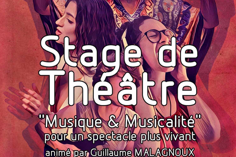 """Stage de théâtre """"Musique & Musicalité"""""""