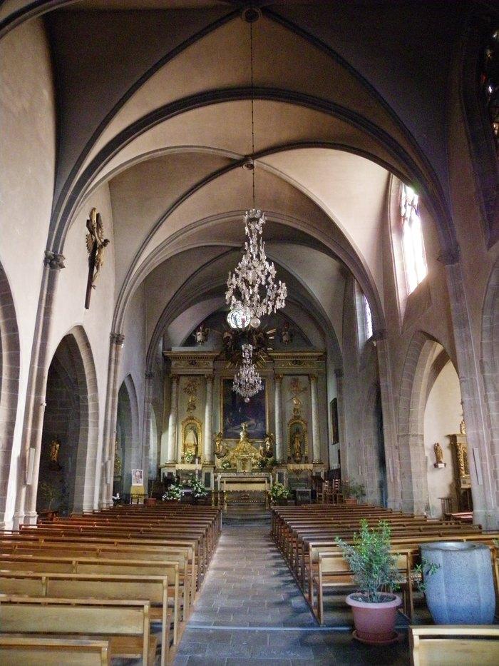 Journées du patrimoine 2020 - Visite guidée de la Collégiale Notre Dame des Oliviers de Murat à travers ses animaux
