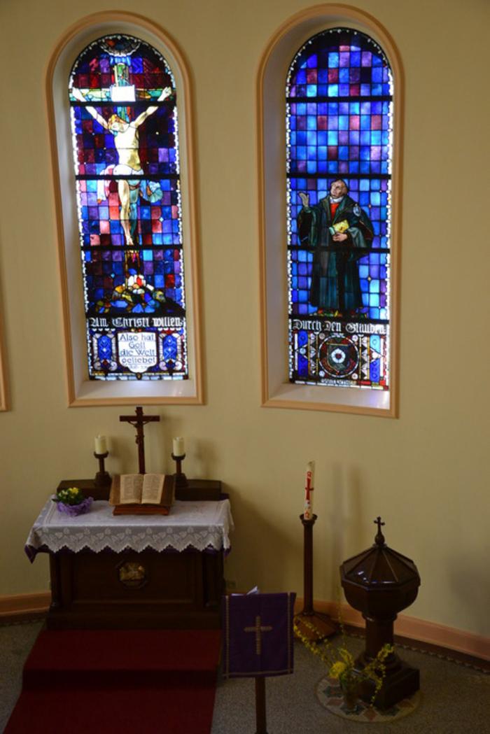 Journées du patrimoine 2020 - Levez les yeux et découvrez un peu d'histoire et du sens à la vie à l'église de la Croix.