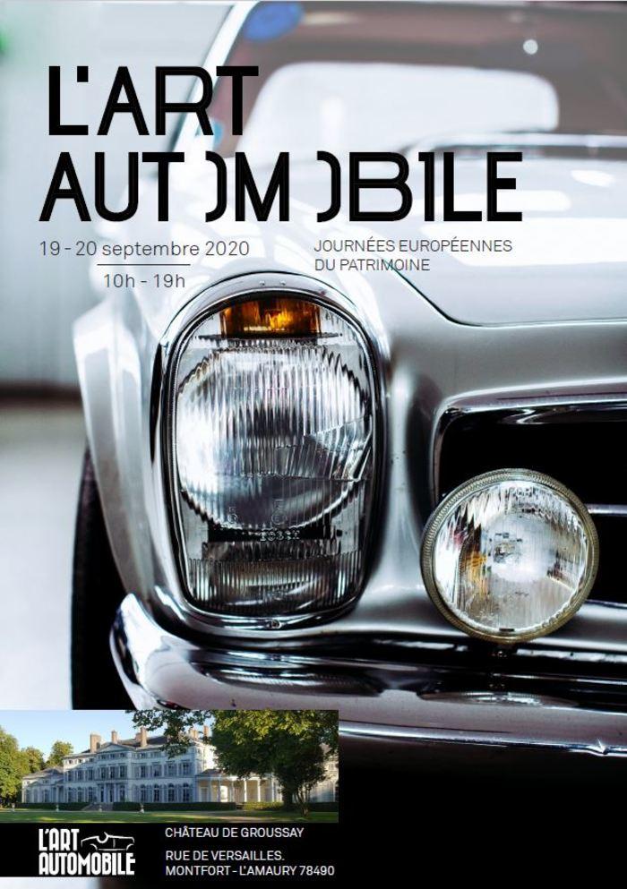 Journées du patrimoine 2020 - 1er Salon de l'Art Automobile au Château de Groussay