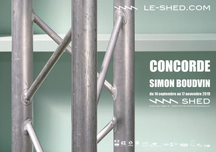 Exposition Concorde de Simon Boudvin