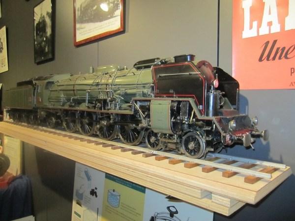Nuit des musées 2019 -L'histoire du chemin de fer, de la vapeur au TGV