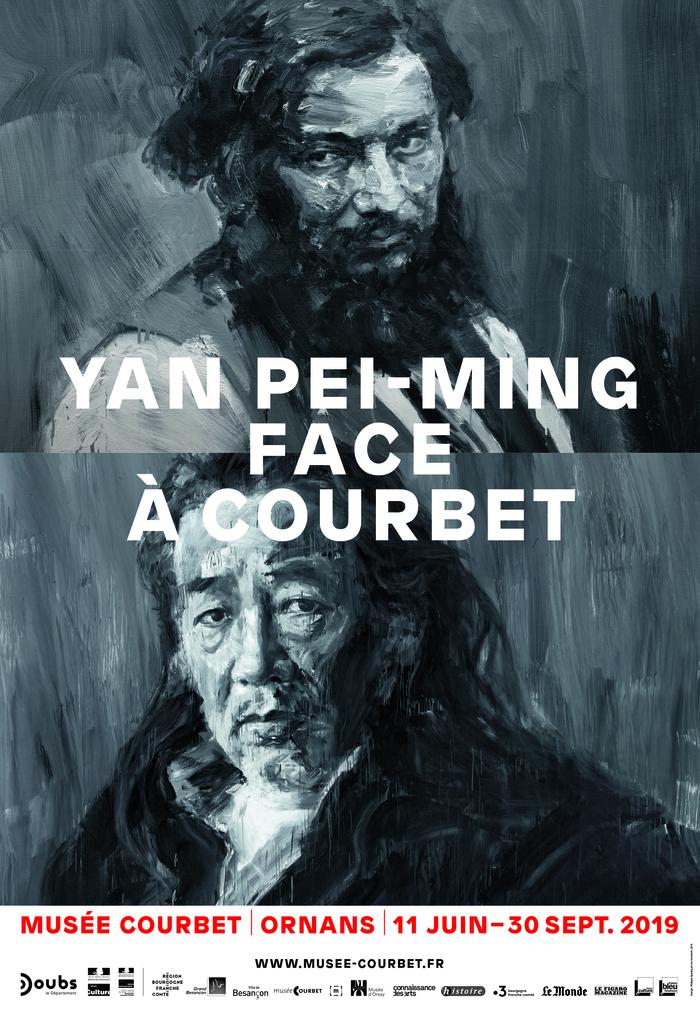 Journées du patrimoine 2019 - Exposition Yan Pei-Ming face à Courbet