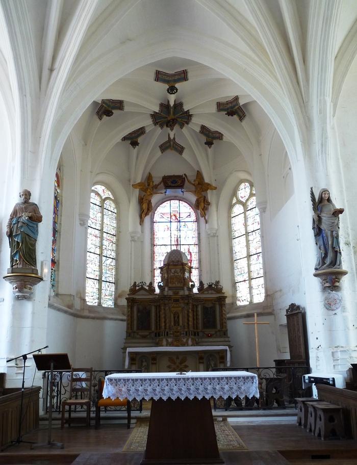Journées du patrimoine 2019 - Visite libre de l'église Sainte-Maure