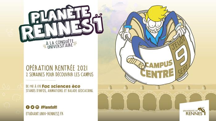 L'événement de rentrée pour souhaiter la bienvenue aux nouveaux étudiant·e·s et leur faire découvrir votre campus
