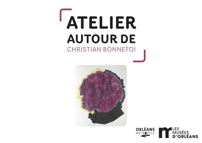 Un petit atelier d'arts plastiques autour de l'œuvre de Christian Bonnefoi.