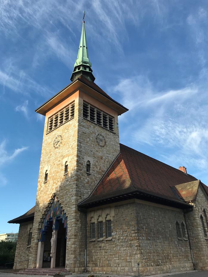 Journées du patrimoine 2020 - Visite de l'Eglise Saint Joseph des Fins