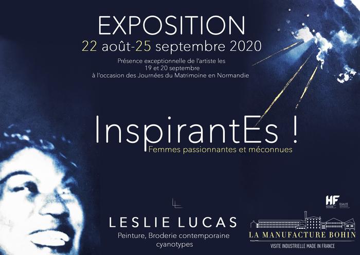 Journées du patrimoine 2020 - Exposition et rencontre avec l'artiste Leslie Lucas