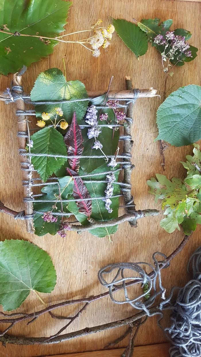 Pause Nature : tissage végétal