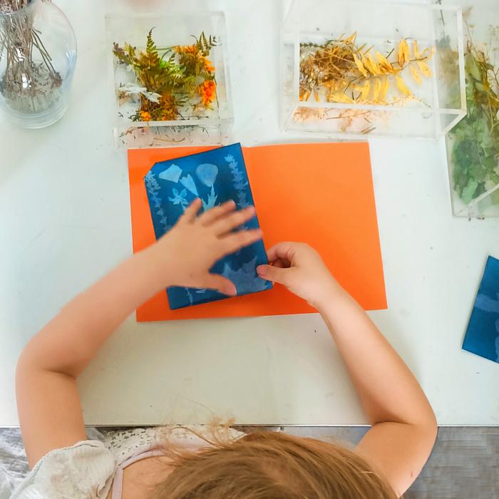 Ateliers Cyanotype : Et si les mauvaises herbes devenaient de véritables œuvres d'art !