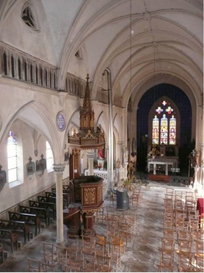 Journées du patrimoine 2019 - Découverte de l'église de Montarlot