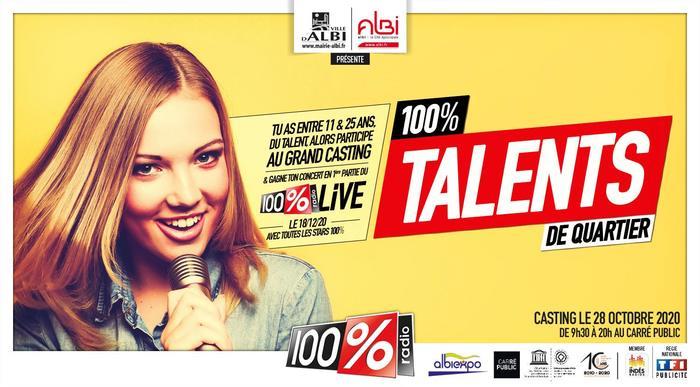 12ème édition de «Talents de quartier» les auditions auront lieu le mercredi 28 octobre au Carré Public.