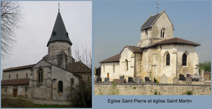 Journées du patrimoine 2019 - Visite des églises Saint-Pierre et Saint-Martin