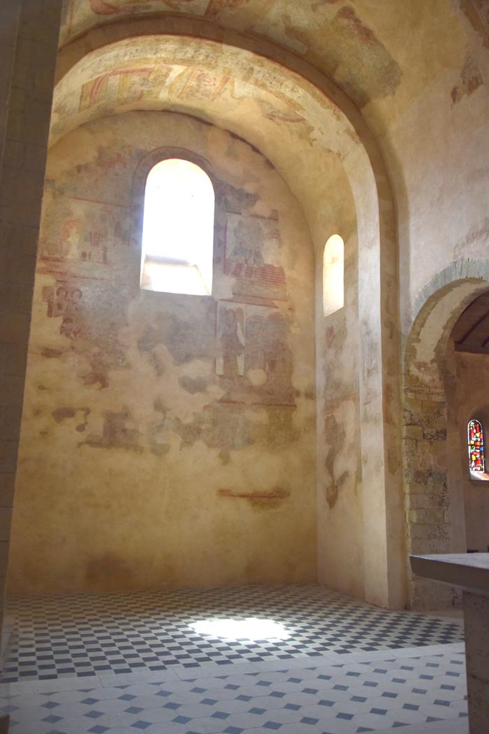 Journées du patrimoine 2020 - Découverte des peintures murales restaurées
