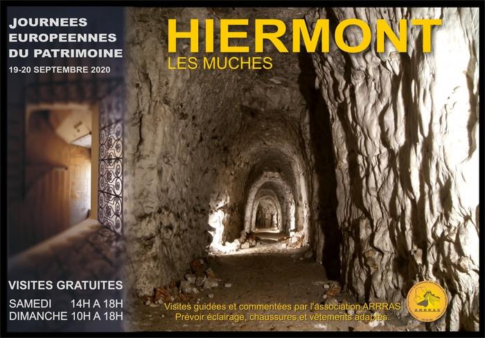 Journées du patrimoine 2020 - Visite des souterrains refuges de Hiermont