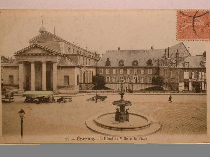 Journées du patrimoine 2019 - Circuit sur les anciens Hôtels de Ville d'Epernay