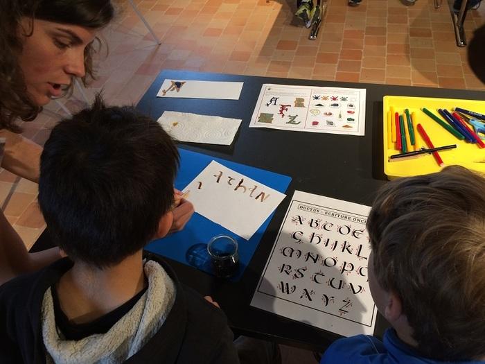 Journées du patrimoine 2020 - Atelier initiation au latin et découverte de la calligraphie
