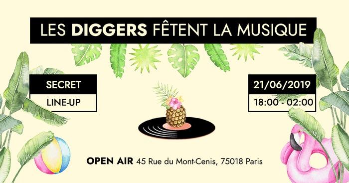 Fête de la musique 2019 - Les Diggers fêtent la musique!