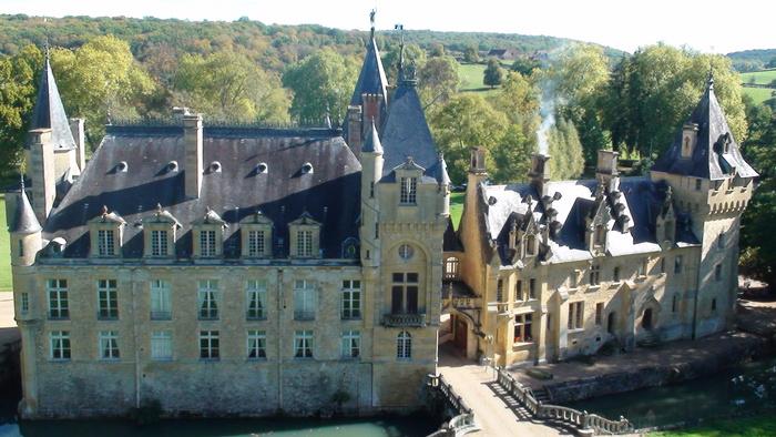 Journées du patrimoine 2019 - Visite des extérieurs du château de Prye
