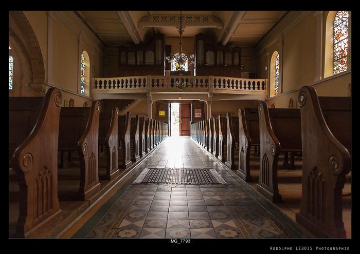 Journées du patrimoine 2020 - Visite libre de l'église Sainte-Lucie de Vallières