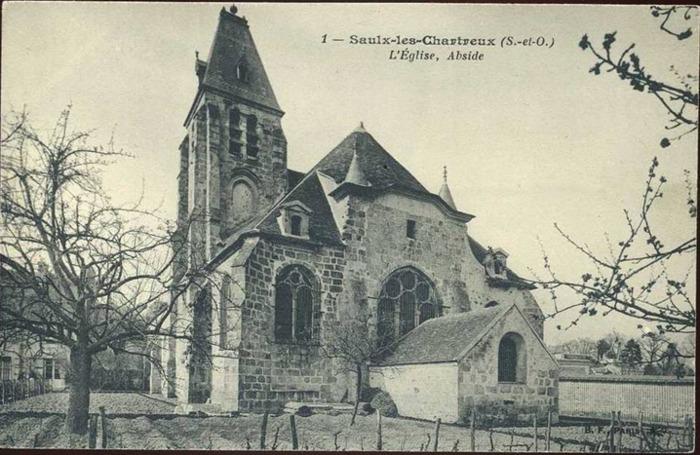 Journées du patrimoine 2019 - Visite de l'église de Saulx-les-Chartreux