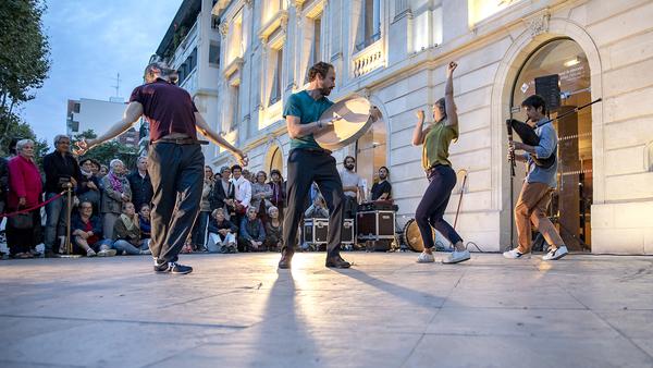 Nuit des musées 2019 -Spectacle Danse – création Douce Dame par la compagnie Adéquate