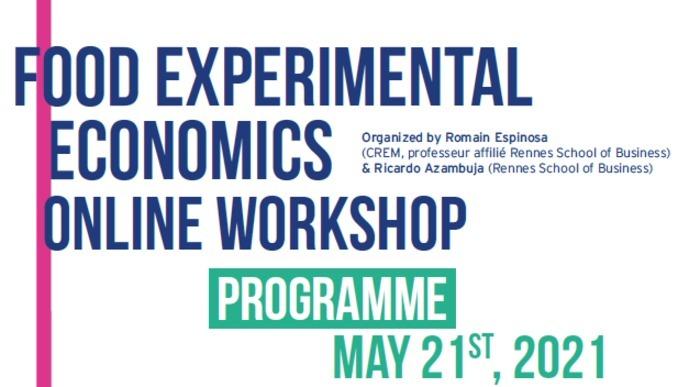 Journée de présentations en économie expérimentale de l'alimentation