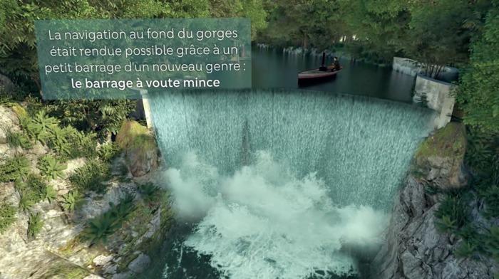 Journées du patrimoine 2019 - Découverte du barrage des Gorges du Sierroz