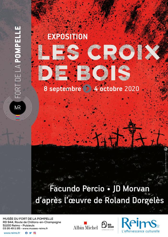 Journées du patrimoine 2020 - Exposition Les croix de bois, la Grande Guerre en BD