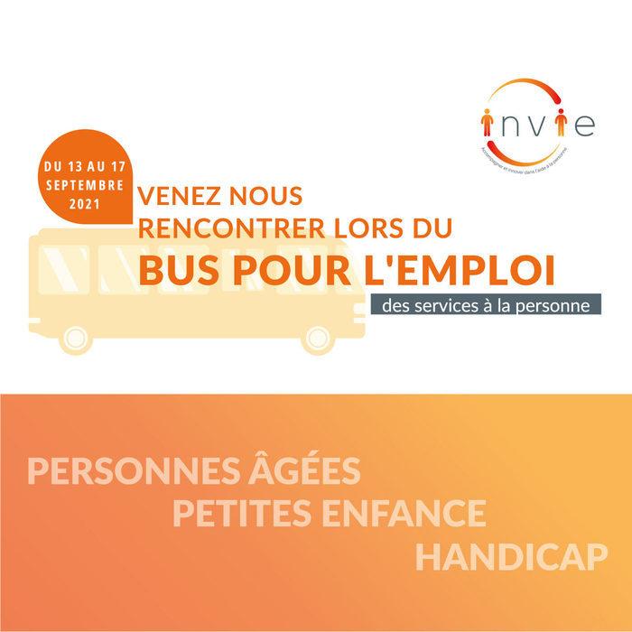 Le Bus pour l'emploi des services à la personne
