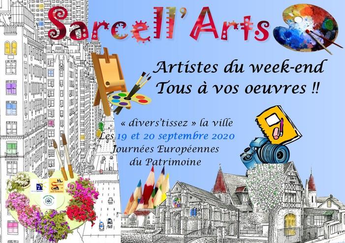 Journées du patrimoine 2020 - Sarcell'Arts
