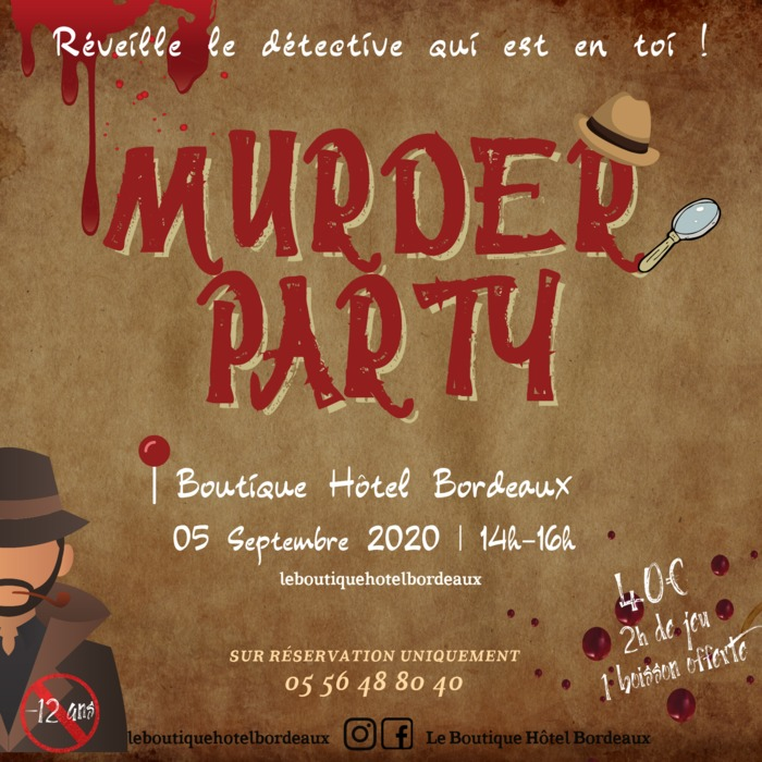 Murder Party au Wine Bar du Boutique Hôtel