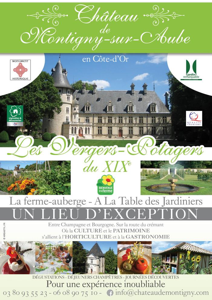 Journées du patrimoine 2019 - Découvrez le domaine du château de Montigny-sur-Aube