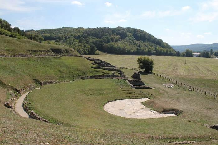 Journées du patrimoine 2019 - Le théâtre gallo-romain de Mandeure
