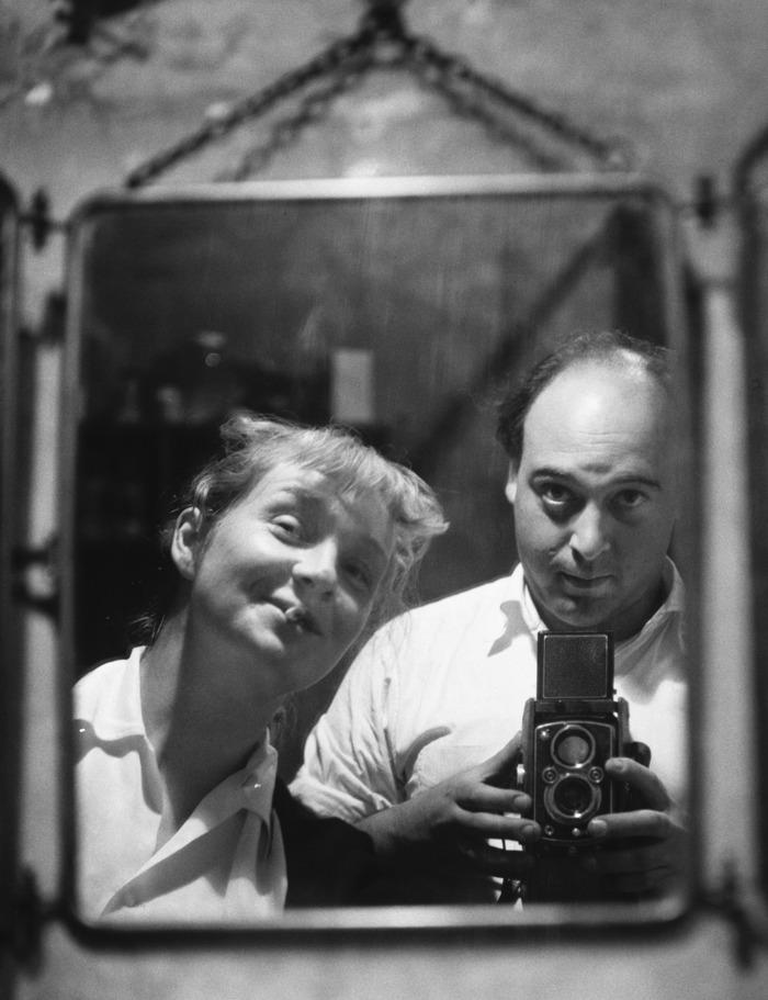 Hugh et Sabine Weiss