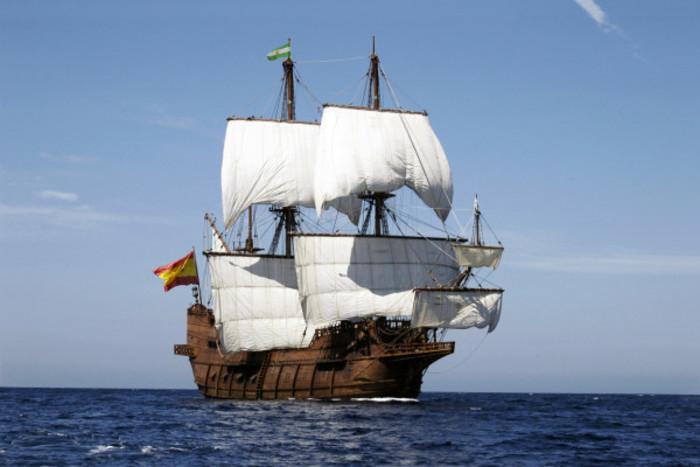 Escale du voilier Le Galeon