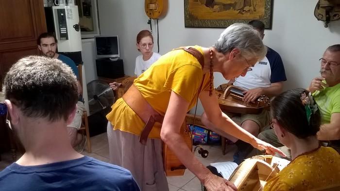 Stage - Bases de la vielle à roue