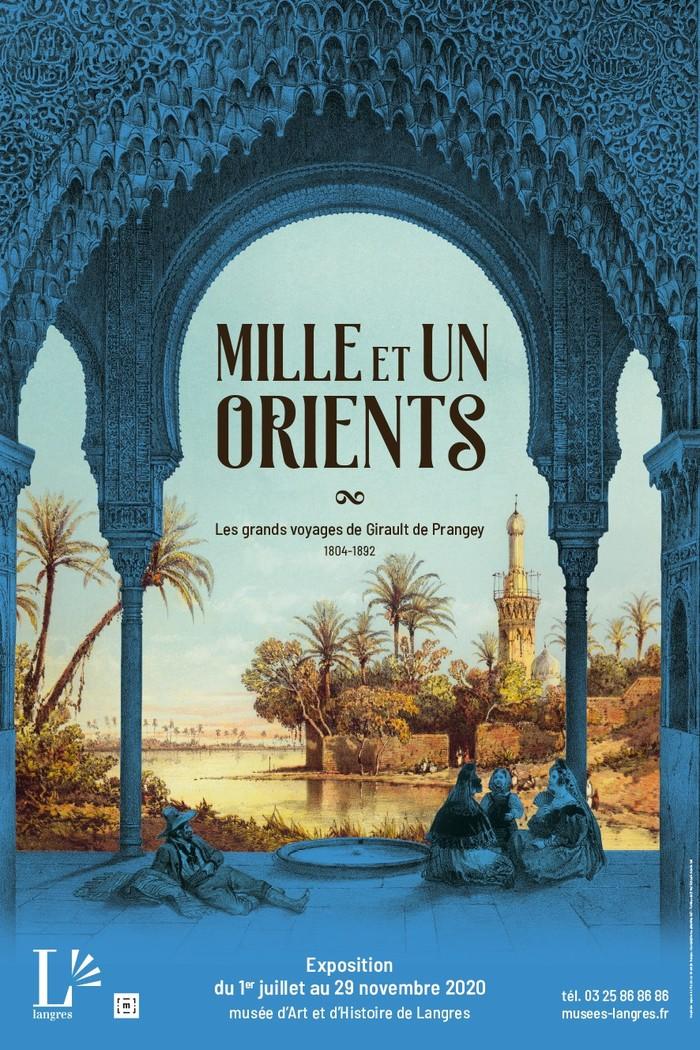 Journées du patrimoine 2020 - Visite « flash » speciale exposition Mille et un Orients, les grands  voyages de Girault de Prangey (1804-1892) : les portes des Moulins.