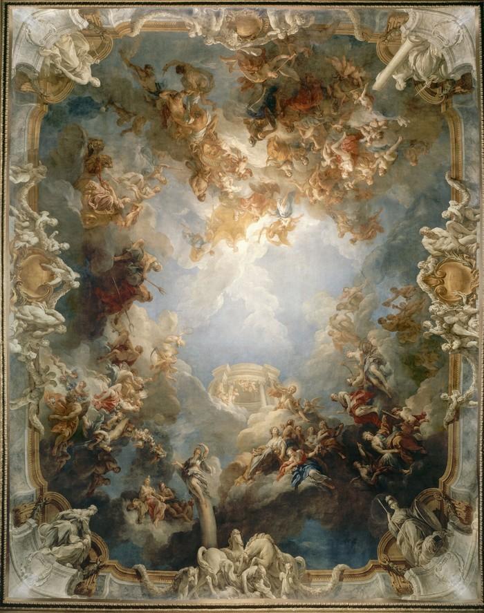 Venez à la rencontre des divinités qui peuplent les airs de Versailles et jouez avec leur langage !